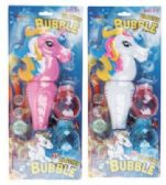 12 Units of Unicorn Bubble Blaster Batteries Included Lights And Music - Bubbles