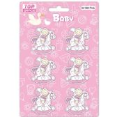 96 Units of Wooden Decoration Baby Pink Horse - Baby Shower