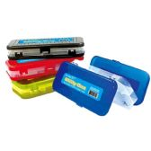 96 Units of Utility Box Assorted Two Layer - Pencil Boxes & Pouches
