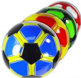 12 Units of Official Size Brightly Colored Soccer Balls - Balls