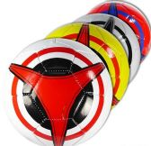12 Units of Official Size Colorful Triad Soccer Balls - Balls
