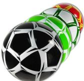 12 Units of Official Size Colorful Geometric Soccer Balls - Balls