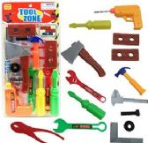 12 Units of 14 Piece Toy Zone Toy Tool Sets - Toy Sets
