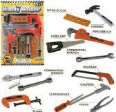 6 Units of 21 Piece DIY Handy Helper Toy Tool Sets - Toy Sets