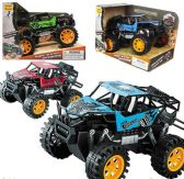 6 Units of Friction Powered Mountain Crawler 4WD Trucks - Toy Sets