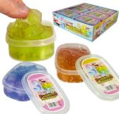 12 Units of Color Pudding Slimes w/ Cubes - Slime & Squishees