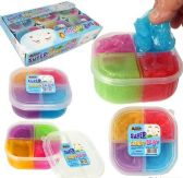 12 Units of 4-Color Super Light Clay Slimes - Slime & Squishees