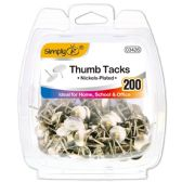 96 Units of Silver Thumb Tack - Bulletin Boards & Push Pins