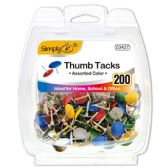 96 Units of Color Thumb Tack - Bulletin Boards & Push Pins
