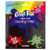 96 Units of Modeling Dough Black - Clay & Play Dough
