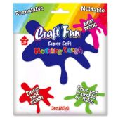 96 Units of Modeling Dough White - Clay & Play Dough