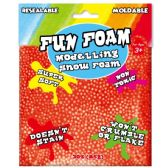 96 Units of Modeling Foam Snow Red - Clay & Play Dough