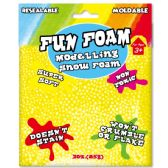 96 Units of Modeling Foam Snow Yellow - Clay & Play Dough