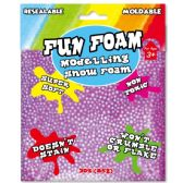 96 Units of Modeling Foam Snow Purple - Clay & Play Dough