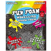 96 Units of Modeling Foam Snow Black - Clay & Play Dough