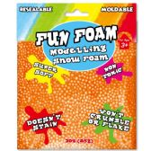 96 Units of Modeling Foam Snow Orange - Clay & Play Dough