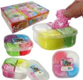 12 Units of 4-Color Bead Mud Slimes - Slime & Squishees