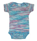 24 Units of Infant Assorted Stripes Onesie, Size M - Baby Apparel