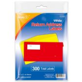 96 Units of Return Address Labels - Reinforcement Stickers & Labels
