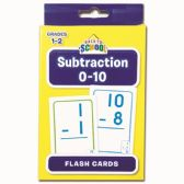 96 Units of Flash Cards Subtraction - Classroom Learning Aids