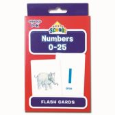 96 Units of Flash Cards Numbers - Classroom Learning Aids