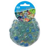 120 Units of Glass Marbles - Garden Decor