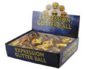 48 Units of Emoji Expression Printed Bouncing Ball - Balls