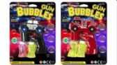 24 Units of Musical Light Up Bubble Gun With 2 Refills - Bubbles