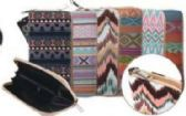 24 Units of Women's Assorted Tribal Color Wallet - Wallets & Handbags