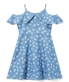 6 Units of Girls' Denim Dress in Size 7-14 - Girls Dresses and Romper Sets