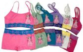 144 Units of Girl's Seamless Bra Boxer Set - Girls Underwear and Pajamas