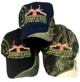 24 Units of Wholesale baseball hats Hunter Live to Hunt Hunt to Live - Baseball Caps & Snap Backs