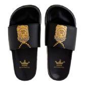 12 Units of Mens Jesus Piece Slide - Men's Flip Flops and Sandals