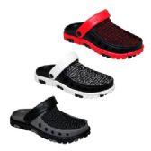 36 Units of Mens Knit Garden Clogs - Men's Flip Flops and Sandals