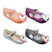 48 Units of Girls Unicorn Mary Jane Shoes - Girls Flip Flops