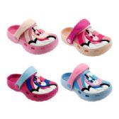 48 Units of Girls Unicorn Garden Shoes - Girls Flip Flops