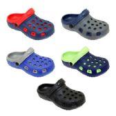 60 Units of Boys Garden Shoes - Boys Flip Flops & Sandals