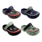 48 Units of Boys Shark Garden Shoes - Boys Flip Flops & Sandals