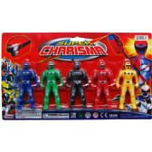 48 Units of POWER ACTION FIGURES ON BLISTER CARD - Action Figures & Robots