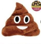 100 Units of 10 Inch Expression Poop Pillow - Pillows