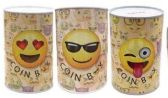 36 Units of Emoji Printed Coin Bank - Coin Holders & Banks