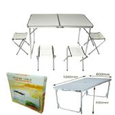 2 Units of OUTDOOR TABLE AND CHAIR SET - Outdoor Recreation