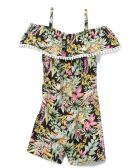 6 Units of Girls' Rayon Romper in Size 7-12 - Girls Dresses and Romper Sets