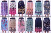 72 Units of Women's Pleated Midi Skirt - Womens Skirts
