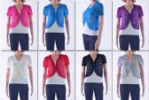 73 Units of Women's Short Sleeve Shrug - Womens Sweaters & Cardigan