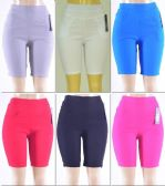 72 Units of Women's Millennium High Waist Bermuda - Womens Shorts