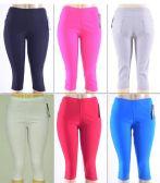 72 Units of Women's Millennium Capri - Womens Capri Pants