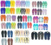 1920 Units of Assorted Womens And Mens Flip Flops BULK Pallet Value Deal - Women's Flip Flops