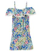 6 Units of Girls' Rayon Romper in Size 2T-4T - Girls Dresses and Romper Sets