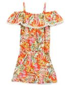 6 Units of Girls' Rayon Romper in Size 4-6X - Girls Dresses and Romper Sets